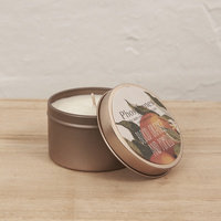 Hand Poured Soy Candle in Travel Tin