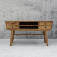 Aditya Angled Four Drawer Console