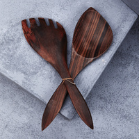 Recycled Sono Wood Paddle Salad Servers