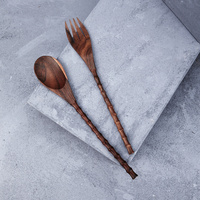 Longline Recycled Sono Wood Salad Servers