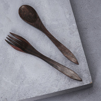 Recycled Sono Wood Salad Servers