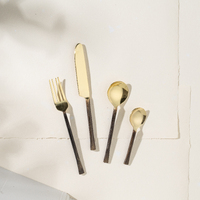 Ayu Brass Flatware Set