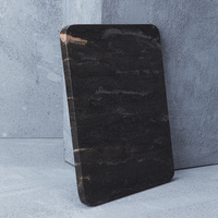 Natural Marble Cheeseboard in Black