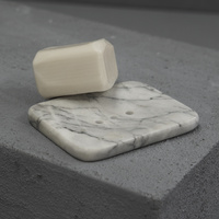 Natural Marble Soap Dish