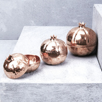 Hand Crafted Copper Pomegranate