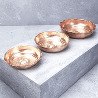 Hand Crafted Copper Hamam Bowl