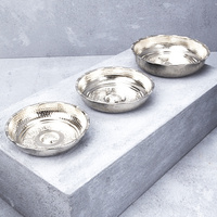 Hand Crafted Nickel Hamam Bowl