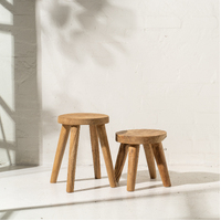 Rokha Stool with Four Legs