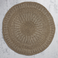 Natural Handwoven Seagrass Mat 150cm