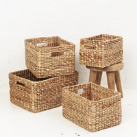 Waterhyacinth Rectangular Storage Baskets