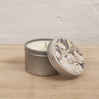 Hand Poured Soy Candle in Travel Tin [Fragrance: French Pear]