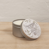 Hand Poured Soy Candle in Travel Tin [Fragrance: Wildflower & Honey]