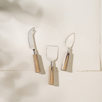 Hilmi Wood Cheese Set