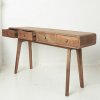 Riia Four Drawer Desk
