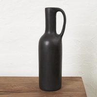 Advik bottle vase with handle