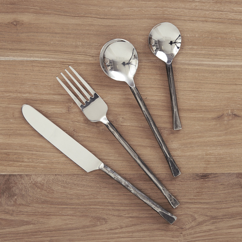 Ayu Silver Flatware Set