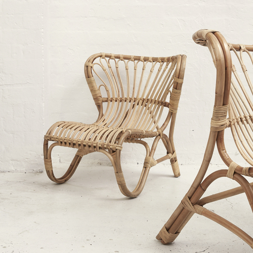 Arju Rattan Armchair in Natural - KIDS SIZE