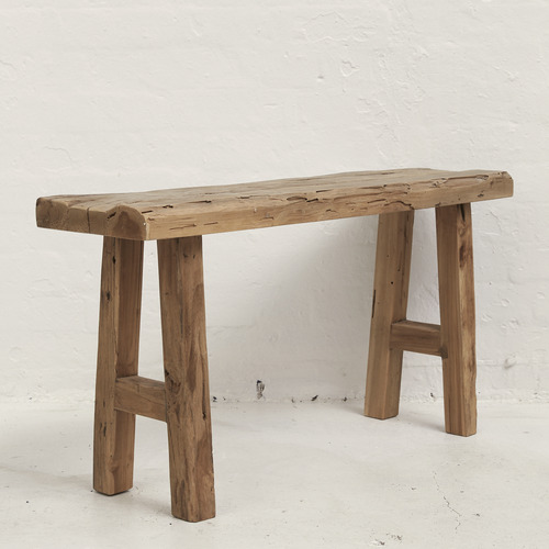 Mikha rustic bench seat