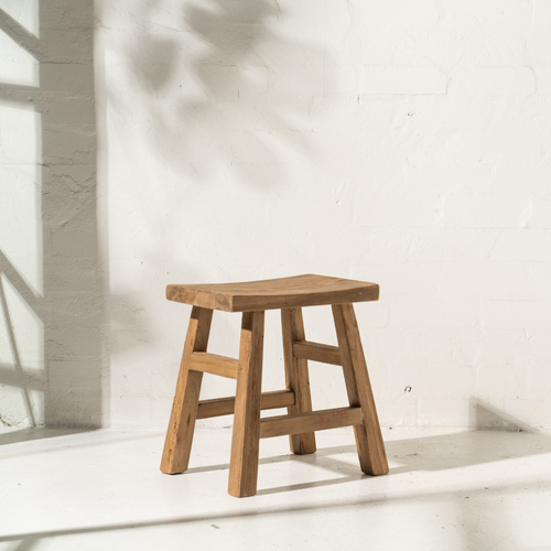 Tahana Curved Stool.
