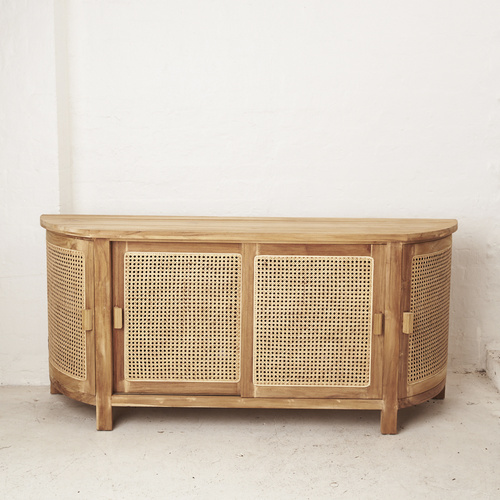 Altair Rattan Curved Console