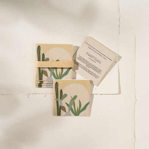 Plantable Gift Tag Pack of 6 (Cactus, Arch.)